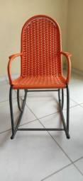 Cadeira de balanço infantil  em fibra