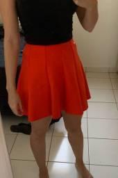 Saia godê laranja