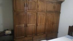 Guarda roupa casal madeira maciça