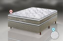 Cama box Queen Size dupla face