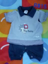 Roupinha masculina infantil  6 meses