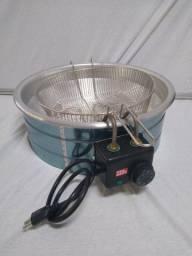Fritadeira eletrica 3 litros redonda