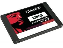 SSD Kingston 120gb usado