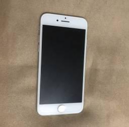 iPhone 7 Prata/Branco 128gb