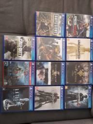 Título do anúncio: Jogos de PS4