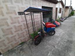 Triciclo para Sorvetes e picolés , capacidade para 450 picolés .