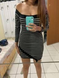 BAZAR - vestido listrado