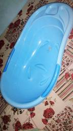 Banheira de bebê masculina