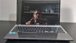Notebook Acer Aspire Core I5 - 15.6 Pol. 2.5 ghz - 4GB HD/500 GB M/DDR3