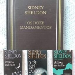 Livros Autor Sidney Sheldon (R$ 20,00 cada)