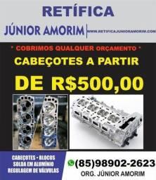 Cabeçote(AM) New Fusca/Jetta/Golf/Sandero/Logan/Zafira/Corolla/Fusion/Civic