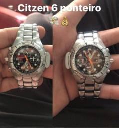 Relógio citizen 6 ponteiro