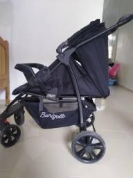 Carro de bebê burigotto, Andajar e um bebê canguru masculino