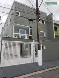 Ótimo Sobrado com 2 dormitórios à venda, 92 m² por R$ 270.000 - Vila Tibiriçá - Santo Andr