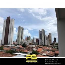 Apartamento com 3 dormitórios à venda, 83 m² por R$ 180.000,00 - Manaíra - João Pessoa/PB