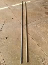 Kit 100 tubos 2 metros para antenas
