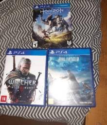 Jogos (Ps4, 3ds, X360, Wii, GC)