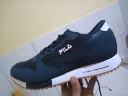 Sapato da Fila azul escuro