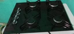 cooktop 4 bocas em ótimo estado