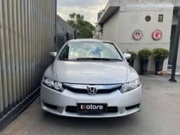 Honda Civic LXS 2009 Automatico Flex com apenas 40mkm Único Dono