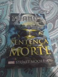 Livro Thanos Sentença de Morte
