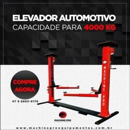 Título do anúncio: Elevador Automotivo Capacidade 4000 Kg I Lubrificação A Óleo I I Machine-Pro