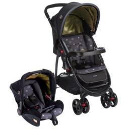 Título do anúncio: Carrinho de Bêbe e Bebê Conforto Cosco