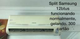 Ar condicionado, painel, gabinete