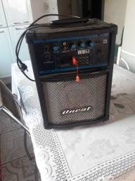 Uma caixa amplificada  de cms 260.
