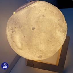 Umidificador de ar 3d lua (fazemos entrega)