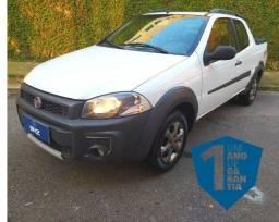 Fiat Strada Cabine Dupla 1.4 Hard Working CD 8V Flex 3P Manual Ano 2016