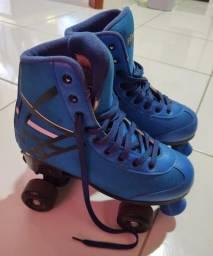 Patins Roller Ajustável C/ 4rodas Fenix