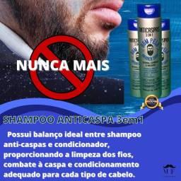 Shampoo anticaspa 3em1