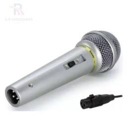 microfone de qualidade potente otimo acabamento