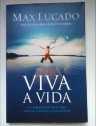 Livro Cristão - Viva a Vida de Max Lucado