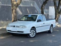 VW-VolksWagen Saveiro CL 1.6 Mi 2000/2000 Branco