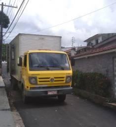Amarelao caminhão bau fretes disponível todo dia