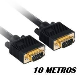 cabo vga 10 metros plus cable pc-mon10001 blindado com filtro  - ananindeua aurá