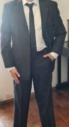 Costume Social Risca de Giz Cia do Terno Premium