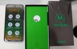 Moto G7 Plus com caixa e todos acessórios