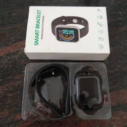 Smart Watch D20 À Prova D 'Água Com Medidor De Frequência Cardíaca Para Ios Android