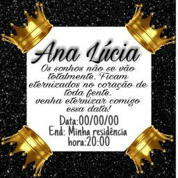 Título do anúncio: Convite