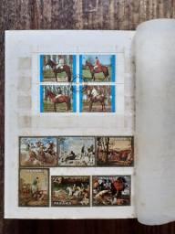 Coleção de selos estrangeiros