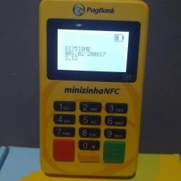 Máquina de cartão de crédito via Bluetooth nfc