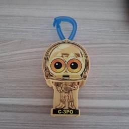 Chaveiro C3PO Star Wars novo