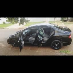 Honda civic preto