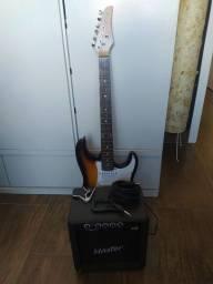 Guitarra Condor Stratocaster+Amplificador+Cabo