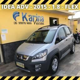 Idea Adv - 2015 - 1.8 - Flex