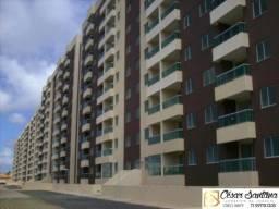 Apartamento 3/4 sendo 1 suíte, varanda, Lauro de Freitas