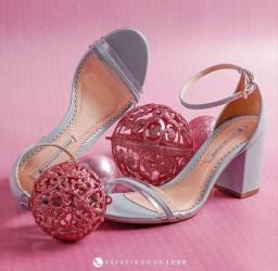 Sandália sapatinho de luxo nunca usada n°35